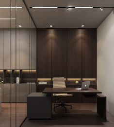 Office Cabin Design, Small Office Design, Office Furniture Design, Office Interior Design, Interior Ideas, Corporate Interiors, Office Interiors, Corporate Office Decor, Corporate Offices