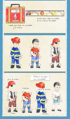 Moda vintage y recortables para niños y niñas de Cocó Jacket : Para Niños Con Cabeza#####