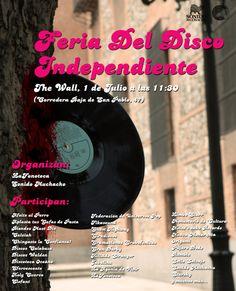 1ª Feria del Disco Independiente - 1 de Julio de 2012.