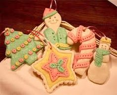 Dough ornaments (salt dough, cinnamon dough, and other dough for making ornaments)