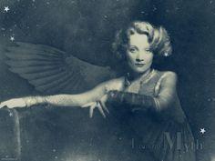 Marlene Dietrich - silent-movies Wallpaper