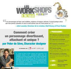 """Les Workshops """"Le film français"""" : Comment créer un personnage divertissant, attachant et unique ?"""