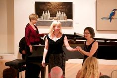 Director Coffs Harbour Regional Gallery; Dr Leigh Summers & Sally Anne Russell