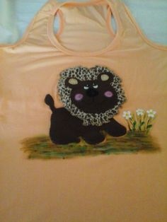 Patch em blusa com pintura