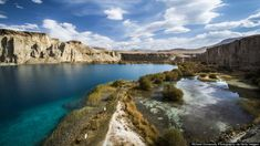 Band-e Amir, Afghanistan's first national park, high in the Hindu Kush Mountains (Richard Dunwoody/Getty)