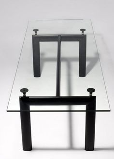 Le Corbusier LC6 Dining Table  http://www.modern-source.com/