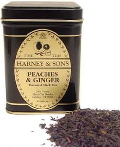 Harney & Sons: Peaches & Ginger is a great peach flavored tea