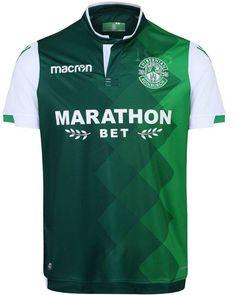 New Hibernian strip for New Football Shirts, Football Kits, Team Shirts, Hibernian Fc, Home And Away, Soccer, Choose Life, Celtic, Scotland