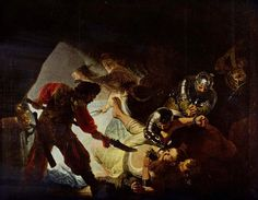 The Blinding of Samson Rembrandt