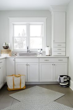 Aristokraft Winstead White Cabinets For Kitchen Powder Room And Valet