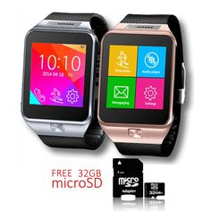 Indigi SWAP2 Bluetooth Smart Watch Sim Card Slot GSM Unlocked! - FREE 32gb SD! >>> Check out this great product. (This is an affiliate link and I receive a commission for the sales)