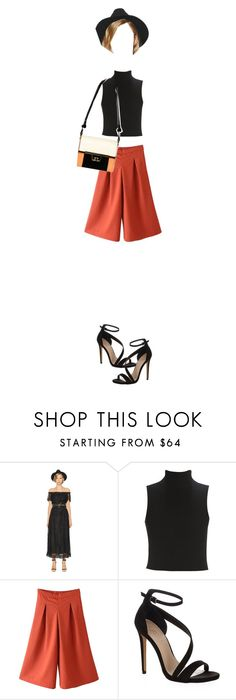 """""""double combo"""" by noersidha ❤ liked on Polyvore featuring moda, The Kooples, Elizabeth and James y Carvela Kurt Geiger"""