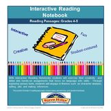 Engage your students by having them create an Interactive Reading Notebook! An interactive notebook, is a creative project that inspires and encourages your students to engage with the classroom material. Through comprehensive and hands-on assignments, students will delve into four reading themes: making inferences, plot, setting, and character analysis.