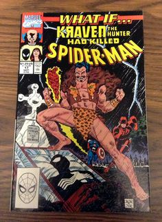 Day 1 of #30randomcomics is What If...Kraven the Hunter Killed Spider-Man Read my thoughts and review of the book here http://rsrgentertainment.com/random-comics-day-1-what-if-kraven-the-hunter-had-killed-spider-man/