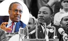 It was the speech that forever changed the course of race relations in the United States but according to Dr. Martin Luther King's right hand man, Clarence Jones, the words, 'I have a dream' were ad-libbed and almost not said on the bright sunny day in 1963.