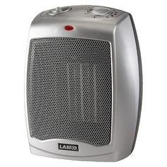 Lasko Ceramic Heater with Adjustable Thermostat : Target