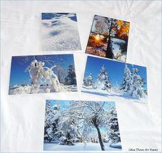 """Lot de 5 cartes postales 10x14cm avec des photos d'hiver,de son soleil et de ses paysages """"Hiver et soleil"""" : Cartes par celinephotosartnature Creations, Photo Wall, Polaroid Film, Frame, Nature, Photos, Etsy, Decor, Picture Of Snow"""