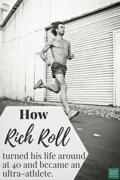 Overweight and with a past of alcohol and substance abuse, Rich Roll turned his life around at 40.