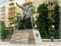 Bagration monument  Moscow