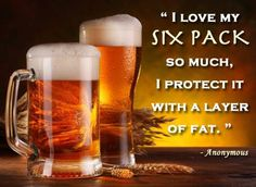 Now that's a six pack I have a chance of attaining!