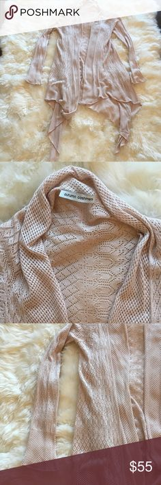 Autumn cashmere sweater 100% cashmere cardigan. A very delicate knit. Beautiful shade of pale lavender. Perfect layering piece. Great for work, travel and casual wear. Autumn Cashmere Sweaters Cardigans