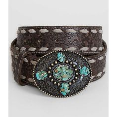 BKE Stone Belt - Brown Small ($53) ❤ liked on Polyvore featuring accessories, belts, brown, genuine leather belt, bke belts, 100 leather belt, brown belt and real leather belts