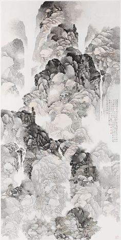 Landscape Li Xubai, Chinese (Fuzhou, Fujian province, China b. 1940)