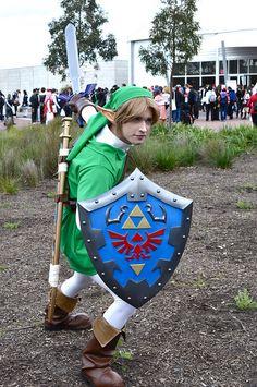 Link #cosplay #link #zelda