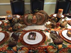 Thanksgiving Party favors and Center Piece