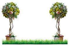 decorative bouquet on background