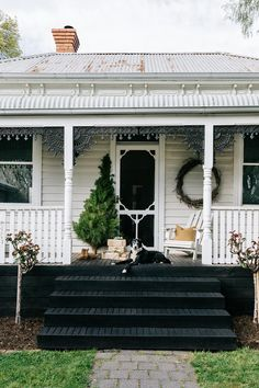Beach Cottage Decor, Coastal Cottage, Coastal Homes, Coastal Living, Cottage Chic, Country Living, Border Collie, Country Style Magazine, Melbourne