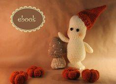 Häkelanleitung Spooky das Nachtgespenst, Amigurumi / cute diy crochet instruction: spooky the ghost by Muetzenstrasse via DaWanda.com