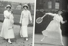 Tenue de tennis début des années 20