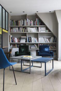 Matière Grise - Table basse TIP Top, double, design Luc Jozancy