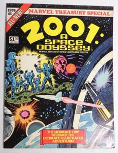 P965. 2001: A SPACE ODYSSEY Treasury Special Marvel Comics 6.5 FN+ (1976) ^^