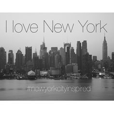 I love New York!!! #newyorkcityinspired