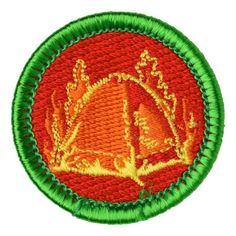 Tent Burning Merit Badge