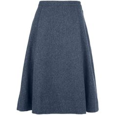 MARC BY MARC JACOBS Pleated A-line Skirt ($620) ❤ liked on Polyvore