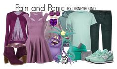 """""""Pain and Panic"""" by leslieakay ❤ liked on Polyvore featuring River Island, Under Armour, Rebecca Minkoff, Moschino, Philipp Plein, Ted Baker, New Balance, Kate Spade, women's clothing and women's fashion"""
