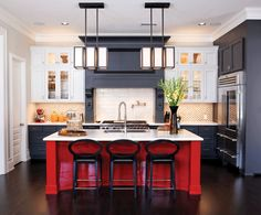 The Best Ways To Use Red In The Kitchen U2014 Kitchen Design