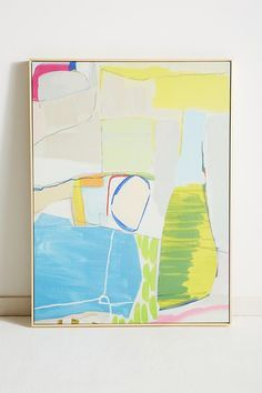 Framed Abstract Painting