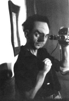 Man Ray: Self-portrait.