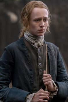 Young Ian isn't happy about having to return home to Lallybroch.
