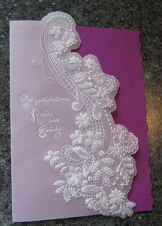 Wedding card by marilyn mclellan