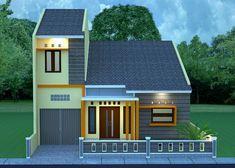 46 Modern Type 36 House Design Ideas - Home-dsgn 4 Bedroom House Designs, Cool House Designs, Minimalist House Design, Minimalist Home, Decorate Your Room, Home Design Plans, Small House Plans, Architect Design, Little Houses