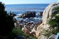 Monterey, CA : Coastline around Monterey, CA