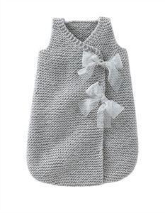 Babies Knitting Patterns Sleepsack for Girl Pattern