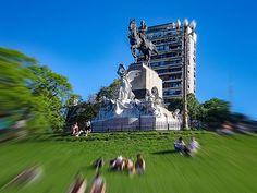 FOTOS SIN PORQUE: Fotografiando monumentos.   Arquitectura, Ciudad, Fotos de monumentos, Monumento a Bartolome Mitre, paisaje urbano