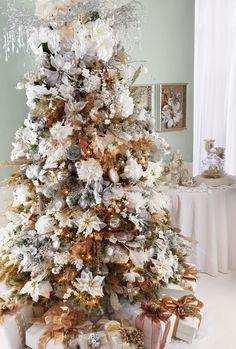 Crystal Elegance #Holiday #Tree #Ornaments