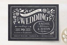 1st place! And refreshingly different. (Alabaster Florals Wedding Invitations by Jennifer Wick at minted.com) #cheapweddinginvitationsvintage